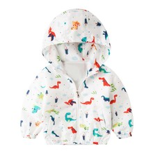Baby Boy Dinosaur Jacket Clothing Coat Long Sleeve Boys Coats Autumn Kids Hoodies 0443 #25
