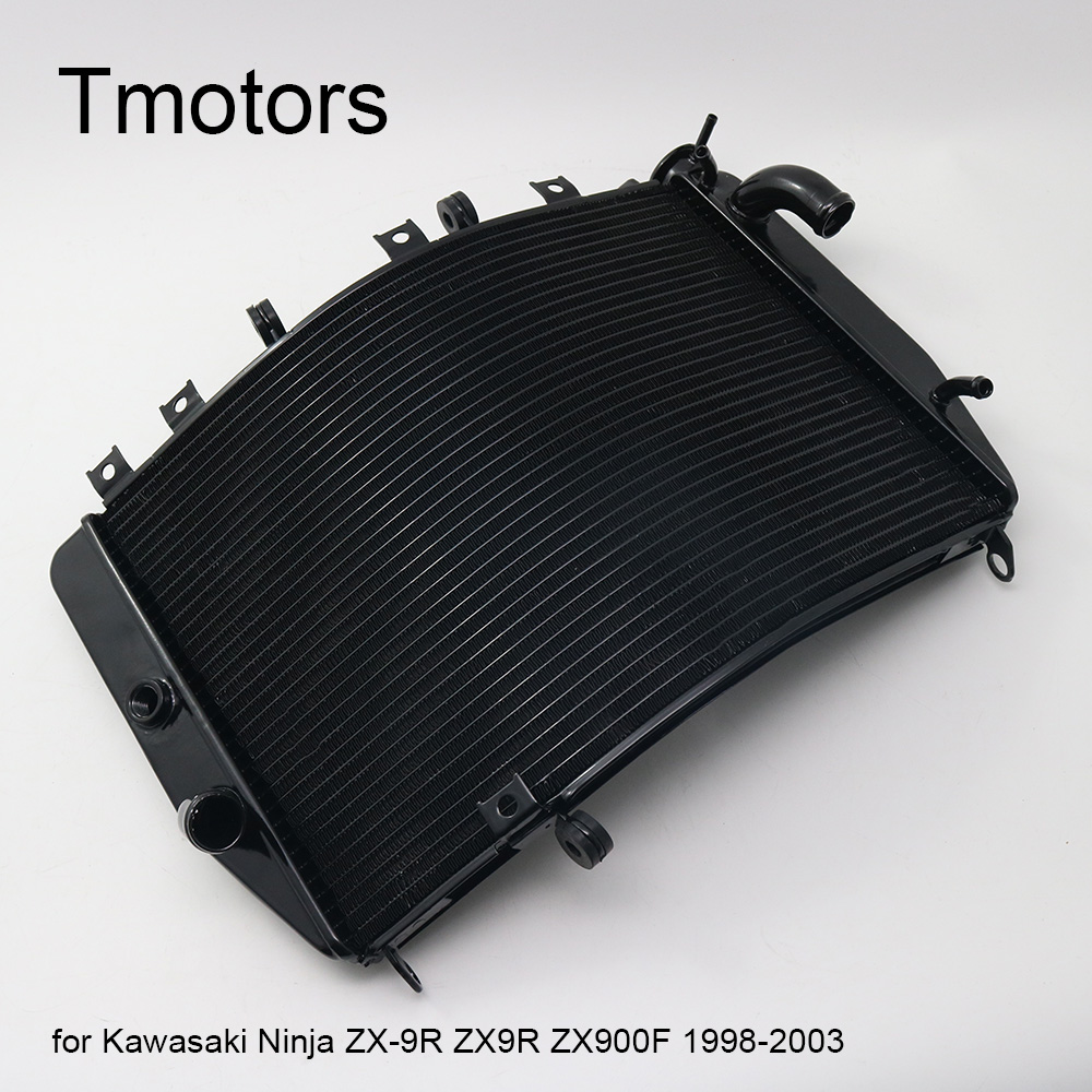 LOPOR Motorcycle Aluminium Replacement Engine Cooling For Kawasaki Z750 Z 750 2004-2006 Z750S Z750 S 2005-2007