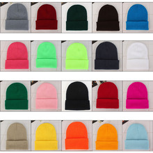 Winter Men Women Unisex Climbing Fleece Solid Wool Knit Hat Autumn Warm Couple Beanie Ski Hats Hedging Cap Outdoor