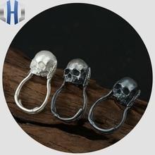 Skull Ring Munch Screaming Hand Bone Handmade Original