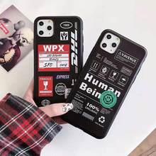 Dhl Weichen Fall Für Iphone 11 Pro X Xs Max Xr 8 7 6 6s Plus Silikon Telefon Abdeckung luxus Dhl 50th Anniversary Silk muster Fällen