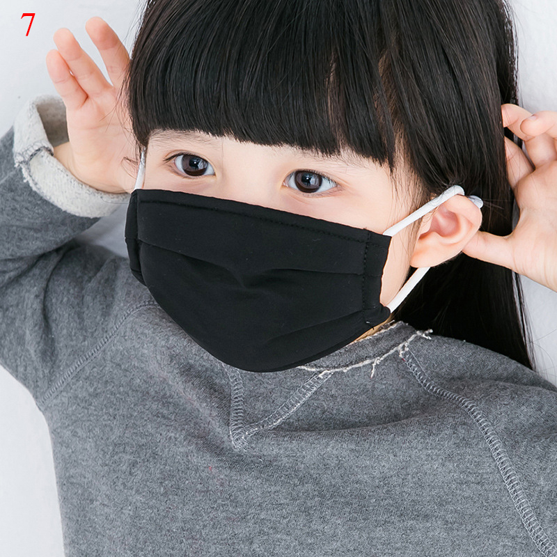 Dust Mask Breathable Children Silk Sunscreen Face Mask Reusable Anti Pollution Face Shield Wind Proof Mouth Cover Mouth-muffle