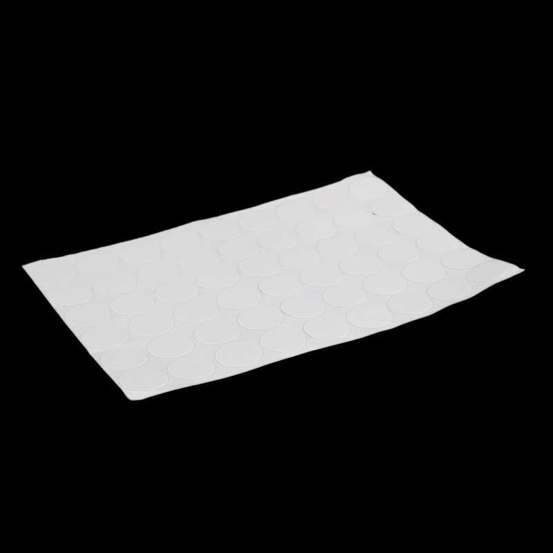 Schrank Schrank Selbst-adhesive Schraube Deckt Kappen Aufkleber 54 in 1 Weiß