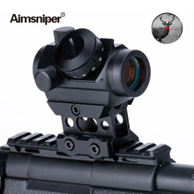 1x25 Hunting RDS-25 Red Dot Sight Holographic Optical Sight Micro Reflex Rifle Iron Scope 4MOA For Airsoft Gun Rifle Accessories