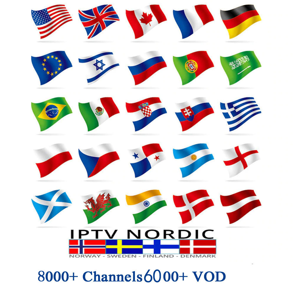 Global IPTV 8000+ Channels Subscription IPTV For Europe Arabic Latino USA  Premium Support Android M3U Ssmart TV PC Linux
