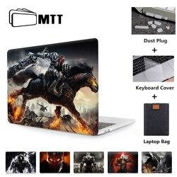 MTT przypadku dla Apple Macbook Pro Retina 13 15 16 cali z panelem dotykowym torba na laptopa dla Macbook air 11 13.3 nowy 12 cal twarda okładka