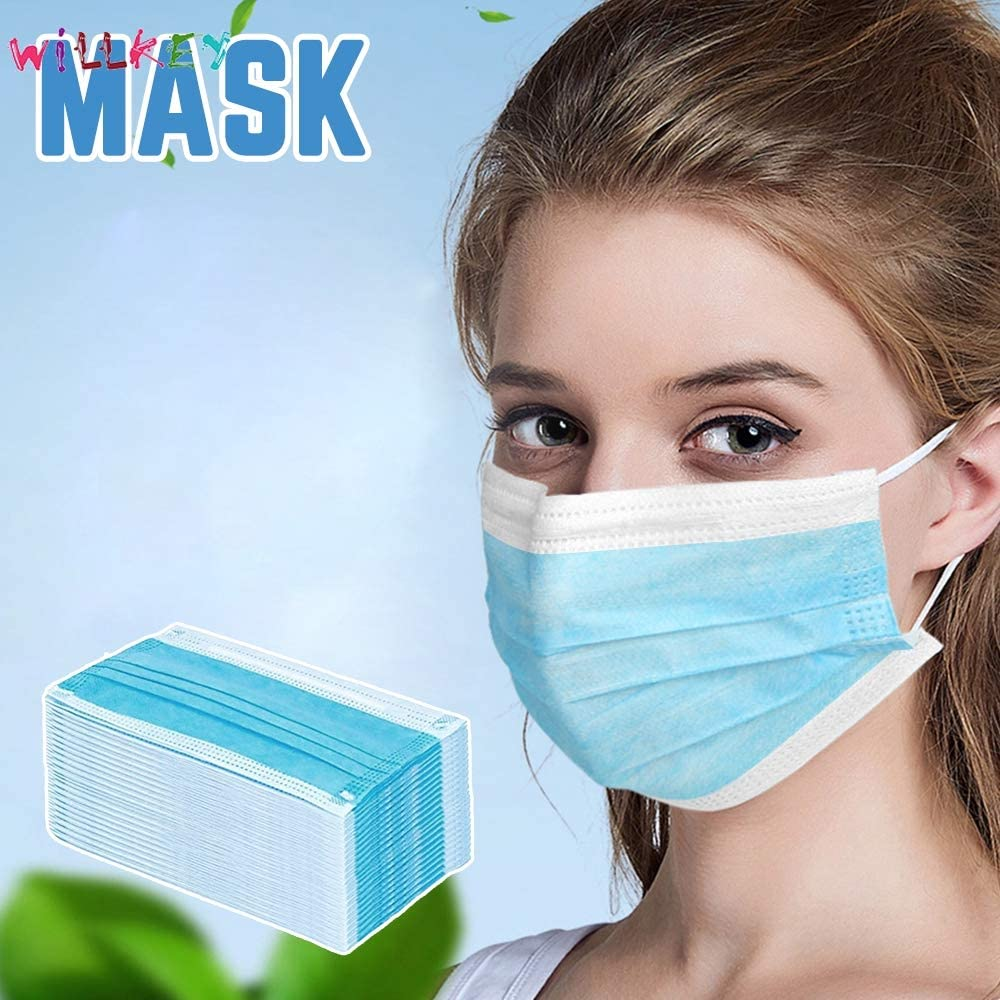 Disposable Earring Mask Protects You From Dust Bacteria And Pollen Preventing The Spread Of Bacteria Is Ideal For People At Work