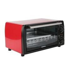 цена на Kitchen Electric Oven 12L Household Multifunctional Galvanized Sheet Baking Oven KAO-1208 1050W With Bakeware EU Plug Ovenware