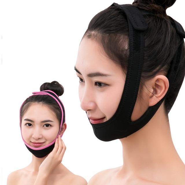 Soins du Visage lifting bande outils de beauté Massage Visage Massage Visage Double menton réduire les produits pour le Visage