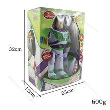 Toy Story 4-figuras de acción de Buzz Lightyear de Disney, Set móvil de luces con alas, regalo de cumpleaños para niños, 2B03