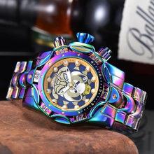 Big Size Luxury Brand Joker Watch Men Quartz Movement Waterproof Business Sports Men's Gold Wristwatch Clock Gift Dropshipping