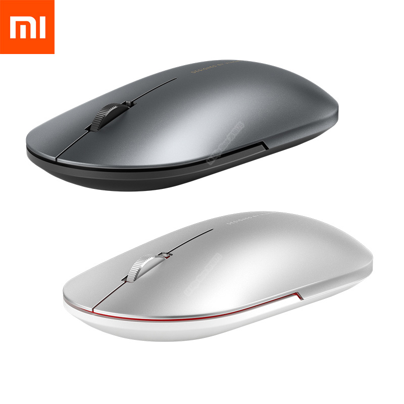 Беспроводная мышь Xiaomi 2/Модная мышь Bluetooth USB подключение 1000 точек/дюйм 2,4 ГГц оптическая беззвучная мышь для ноутбука, ноутбука, офиса, игр