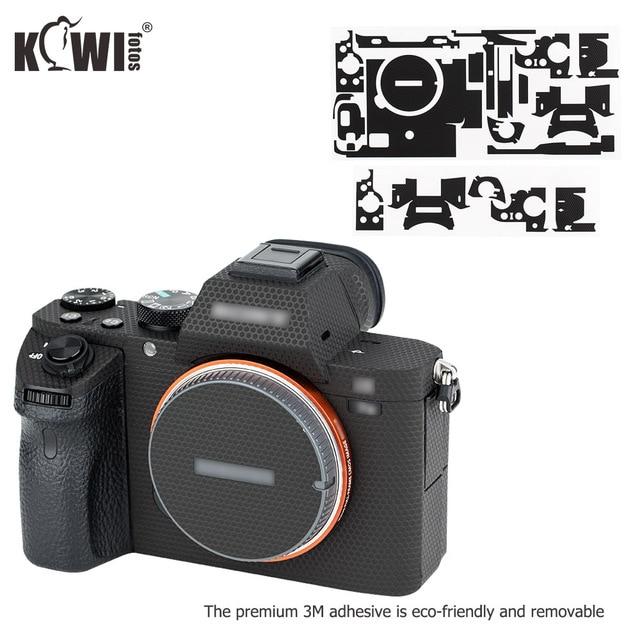 Anti ScratchProtectiveSkinFilm For Sony A7 II A7S II A7R II A7II A7SII A7RII A7M2 A7SM2 A7RM2 Camera Decoration Matrix Black
