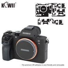 Film protecteur anti rayures pour Sony A7 II A7S II A7R II A7II A7SII A7RII A7M2 A7SM2 A7RM2 caméra décoration matrice noir