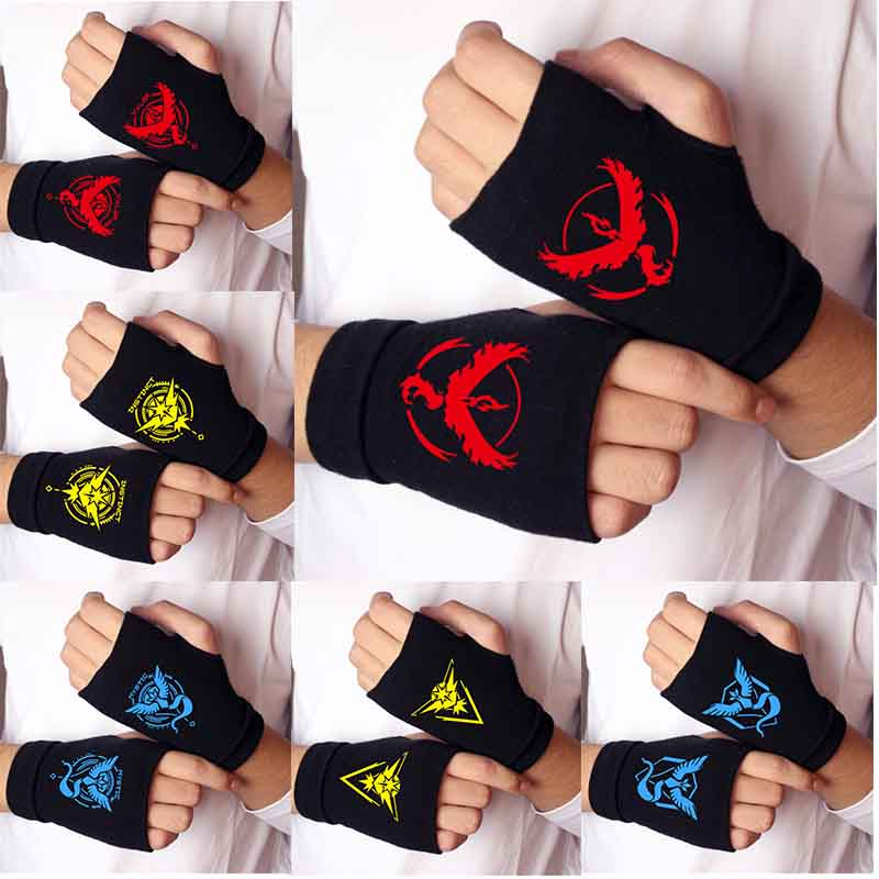 anime-font-b-pokemon-b-font-go-team-sign-knitting-gloves-cotton-warm-half-finger-wrist-mittens