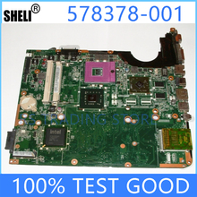 Laptop Hp Dv6 Mainboard Notebook 578378-001 DAUT3MB28C0 Pc Dv7 DV6-1000 Working Fit-For