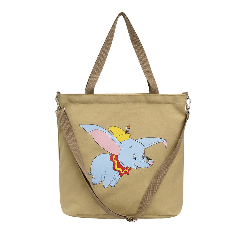 Large Ariel Little Mermaid Messenger Book Tote Gym Diaper Canvas Shoulder Bag