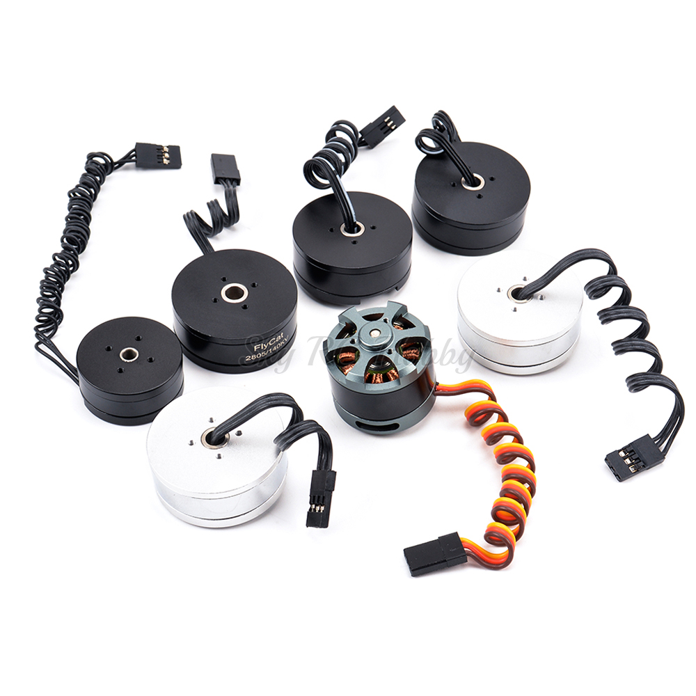 2208 <font><b>80KV</b></font> / 2204 260KV / 2804 140KV / 2805 140KV <font><b>Brushless</b></font> Gimbal <font><b>Motor</b></font> For 2 Axis / 3 Axis Gimbal Gopro CNC Digital Camera FPV image