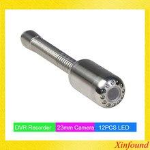 Cabeça da câmera da inspeção da parede da tubulação do dreno de esgoto de 23mm com transmissor de 512hz para a câmera da inspeção do esgoto kamera sonda