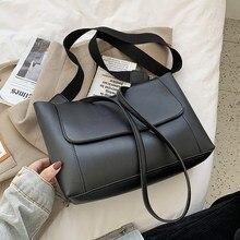 Sacs à main en cuir PU pour femmes, grande capacité, tendance, marque, grands sacs à bandoulière, 2021