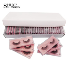 SHIDISHANGPIN Eye Lashes Mink Wholesale Accessories Fake Lashes Packaging Boxes Natural Mink Lashes Bulk False Lash