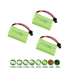 2.4v 1800mAh NiMH Battery For Rc toys Car Tanks Trains RC Ro