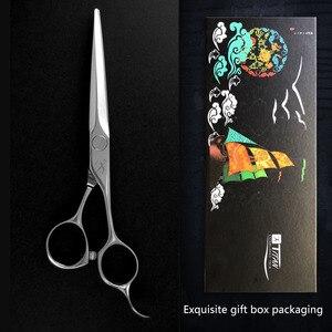 Image 5 - تيتان مقص حلاّق أدوات قص تصفيف الشعر مقصات تحفيف لمصففي الشعر 5.5,6.0,6.5 بوصة 440c steel