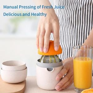 Image 5 - NTONPOWER 400ml Citrus Juicer Portable Manual Orange Juicer for Lemon Fruit Squeezer Juice Child Healthy Life Juicer Machine