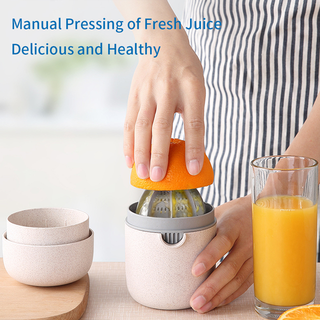 NTONPOWER 400ml Citrus Juicer Portable Manual Orange Juicer for Lemon Fruit Squeezer Juice Child Healthy Life Juicer Machine 5