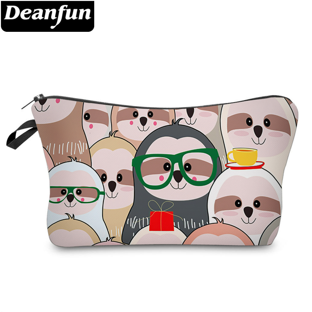 Deanfun Funny Small Makeup Bag Pouch Bag For Women And Girls Accept Custom Printed Cosmetic Bag 51824