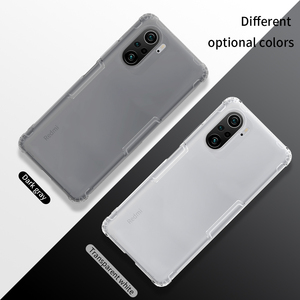 Image 5 - Nillkin – Coque de téléphone en Silicone souple pour Xiaomi POCO F3, 5G, 0.6mm, fine, transparente, Funda