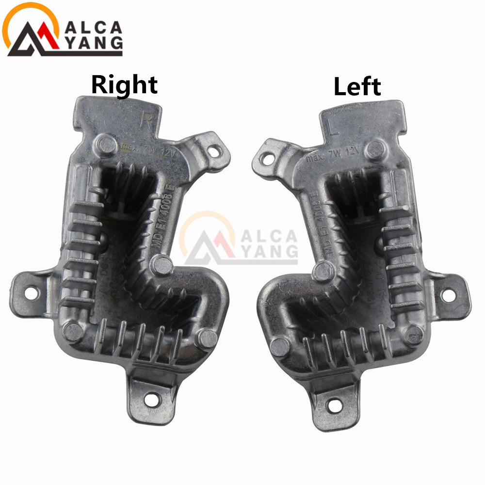 NEW 63117419619+63117419620 For BMW Headlight Led Module 63117419610 Headlight Ballast Led Module 63117419615 For F30 F35 LCI