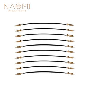 NAOMI 10 sztuk 1 zestaw skrzypce ogon Gut skrzypce Nylon koniec liny ogon dla 4 4 skrzypce skrzypce wykorzystanie Tailpiece regulator wymiana tanie i dobre opinie CN (pochodzenie) Skrzypce użytkowania VP0908-450