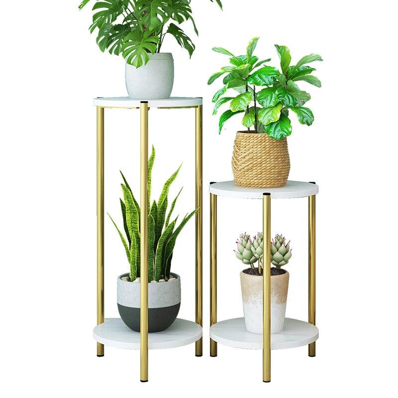 Iron Art Household Province Space Balcony Ground Shelf Indoor Originality Light Extravagant Flowerpot Frame