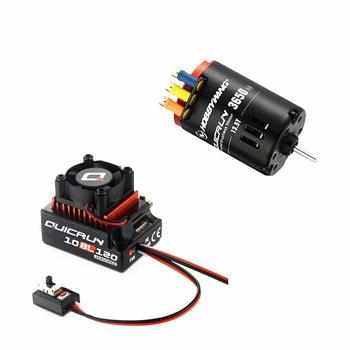 HobbyWing QuicRun 3650 SD G2 with QuicRun 10BL120 120A Sensored Comb for RC 1/10 cars фото