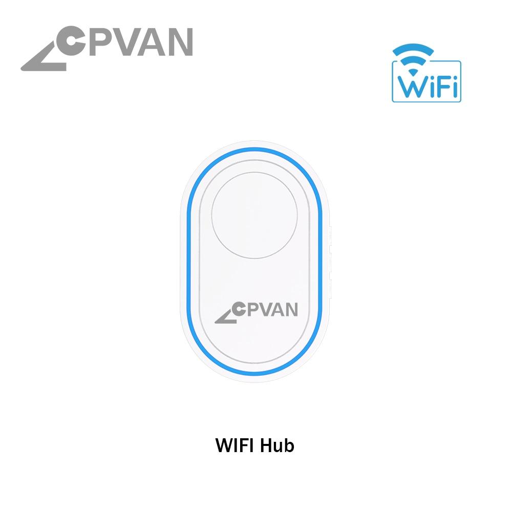 H3290f46be2524797862617cc936434a4L - CPVAN Wireless Doorbell Alarm System Smart WIFI Doorbell Strobe Siren Tuya App 58 Sound Compatible Home Security Alarm System