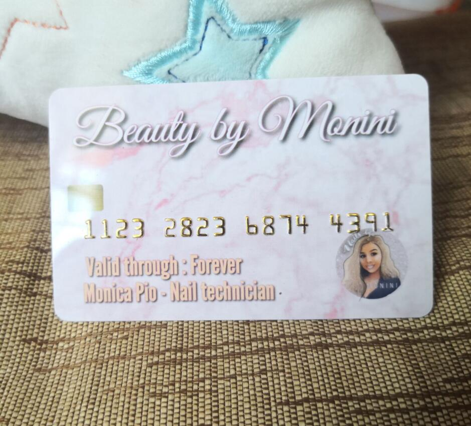 Custom Print Your Logo Customized Credit Business Cards Loyalty Card Free Emboss Number  Plastic  Membership Card/ Gift Cards