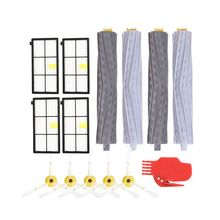 Extractor Filters Side Brush Sets for iRobot Roomba 800 900 Series 805 860 870 871 880 890 960 980 Vacuum Cleaner Spare Parts(se replacement side brush 3 armed for irobot roomba 800 900 series 870 880 980 vacuum cleaner accessory robotic spare parts
