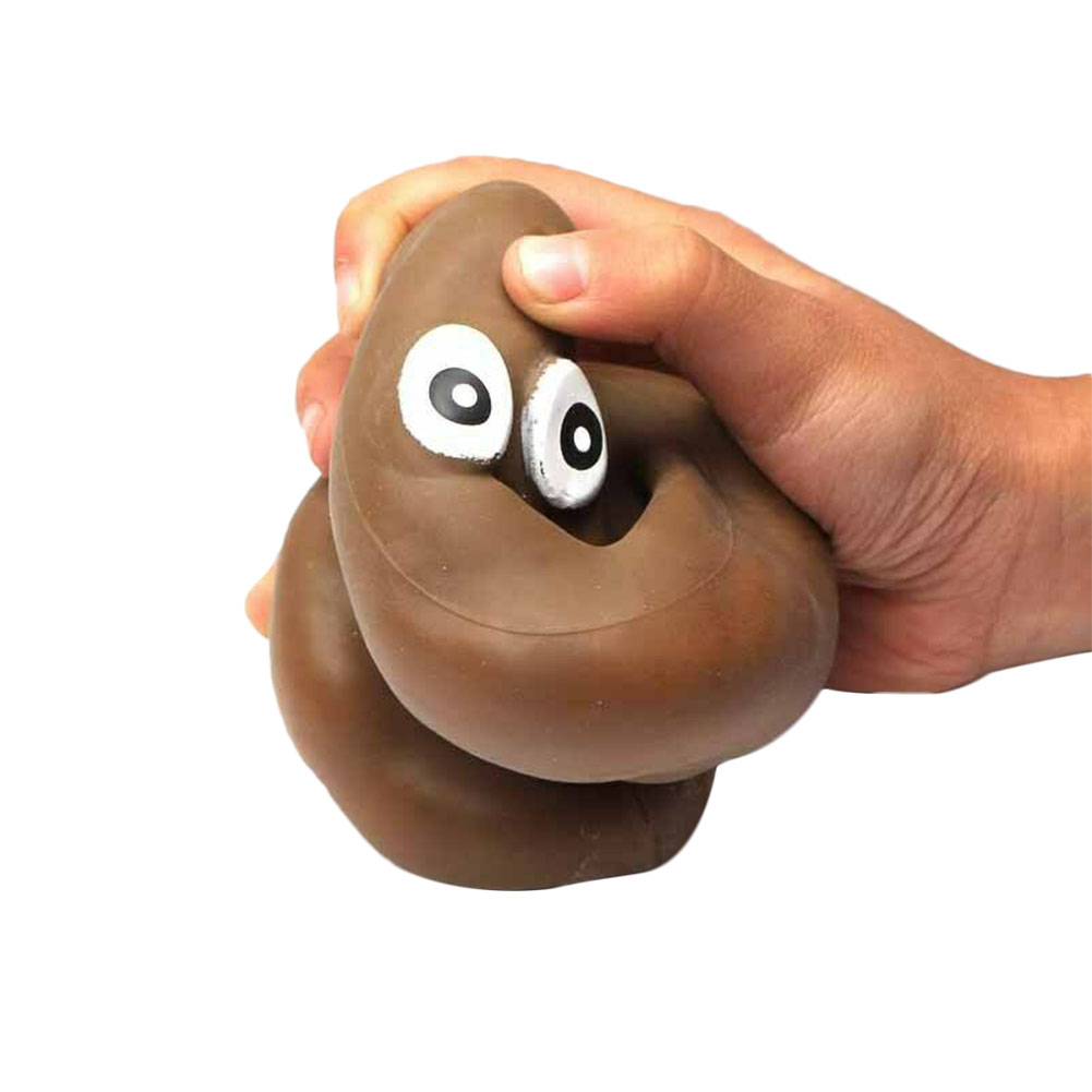 Squeeze Toys NEW Stretchy Poop Funny Poo Kids Novelty Prank Joke Toy Christmas Gift