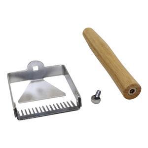 Image 4 - Stainless Steel Wooden Handle Needle Type Honey Scraper Cutting Honey Comb Knife Scraping Shovels Beekeeping Beekeeper Supplies
