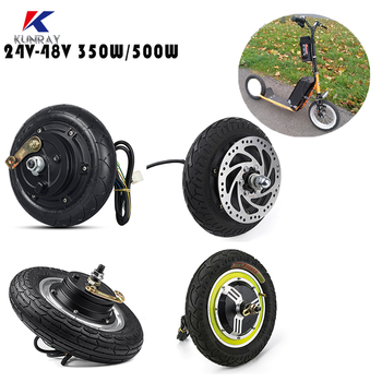 Electric Scooter Hub Brushless Motor 8/10/12 inch EBike Electric Scooter Conversion Kits 24V/36V/48V 350W/500W Hub Motor wheel 350w bicycle brushless controller ebike display kit 24v 36v 48v scooter motor controller lcd display ebike conversion kit