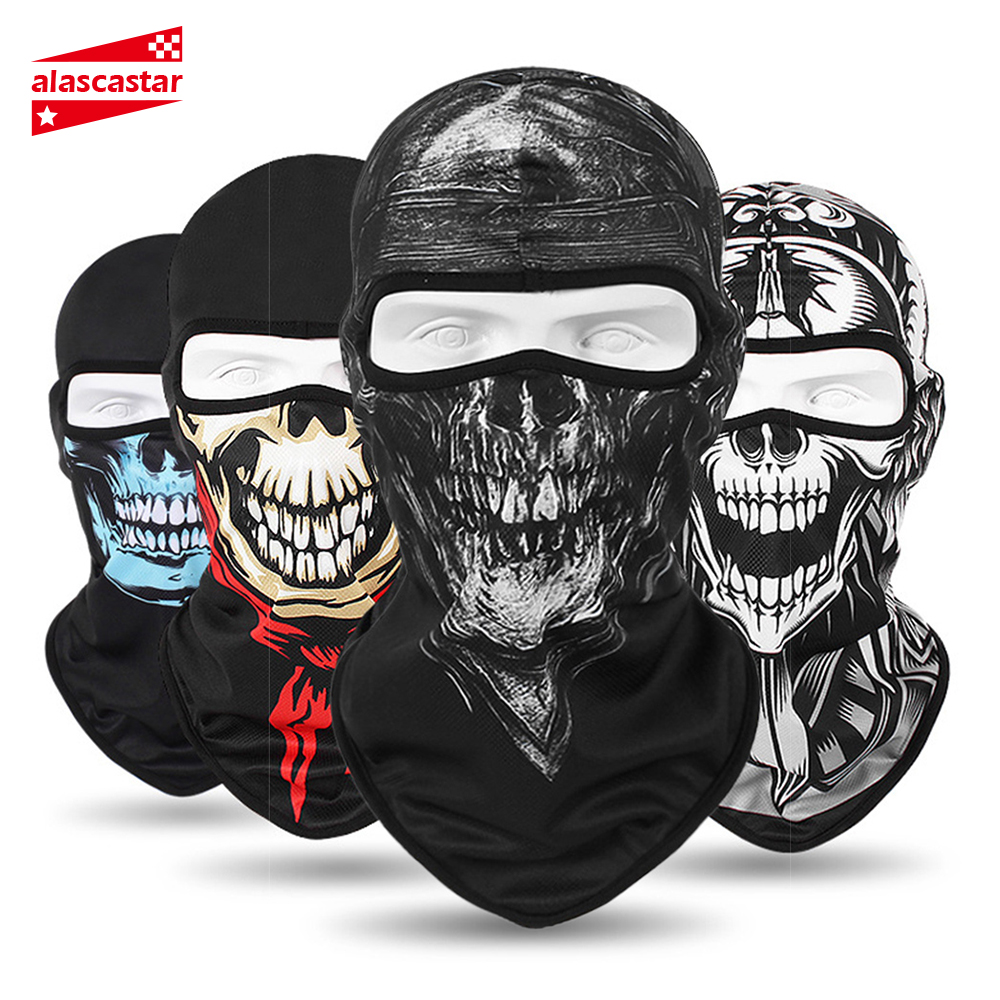 HEROBIKER 2019 New Winter Balaclava Motorcycle Face Mask Lycra Moto Biker Wind Cap Ski Mask Stopper Windproof Motorcycle Mask