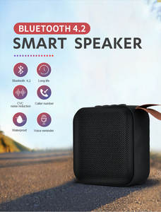 Bluetooth-Speaker Bass Sound-Box Fm-Radio Mini Stereo Outdoor Portable Wireless T5