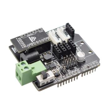 Smart Robot Self Balancing Car Drive Board TB6612 for Arduino Expansion Board Differential Steering Car Reserved Gyro Sensor two wheeled balancing car uno r3 two wheeled self balancing car kit
