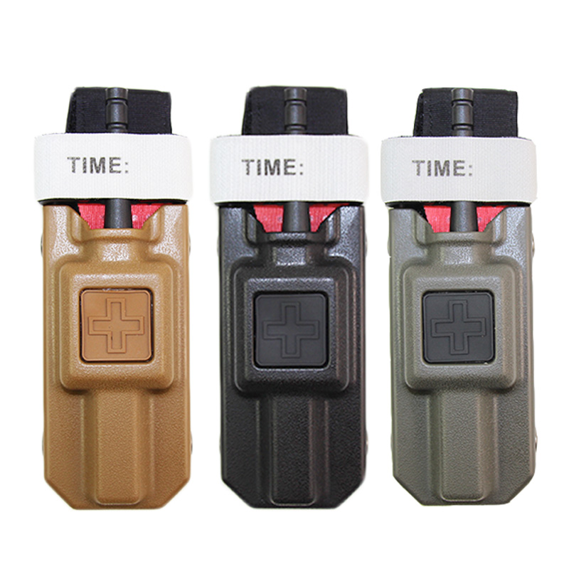 Outdoor First Aid kit FMA Application Tourniquet Swathe Carrier Pouch Molle Medical Storage Airsoft Holsters Emergency Equipment(China)