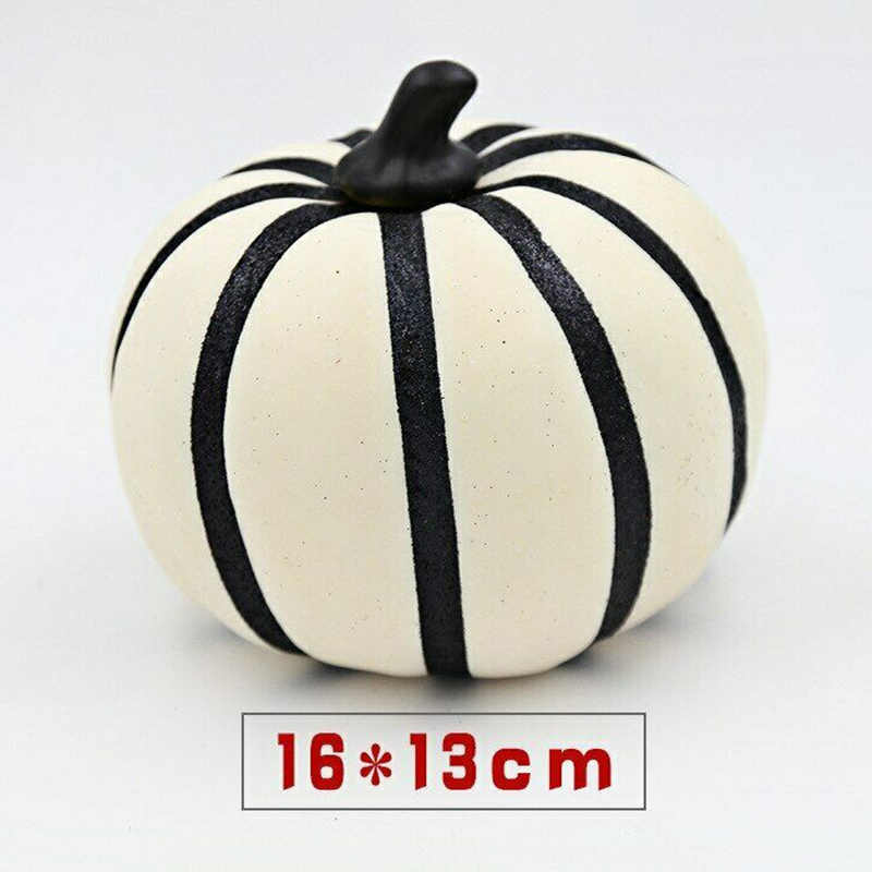 1pc Halloween Foam Artificial Pumpkin Decoration Props For Home Office Party Decor Fake Pumpkins Display