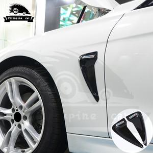 Image 4 - כריש זימי צד פנדר Vent קישוט 3D מדבקות עבור BMW E46 F30 E90 E60 F20 F10 E36 E39 E87 E70 g30 ביצועים רכב סטיילינג