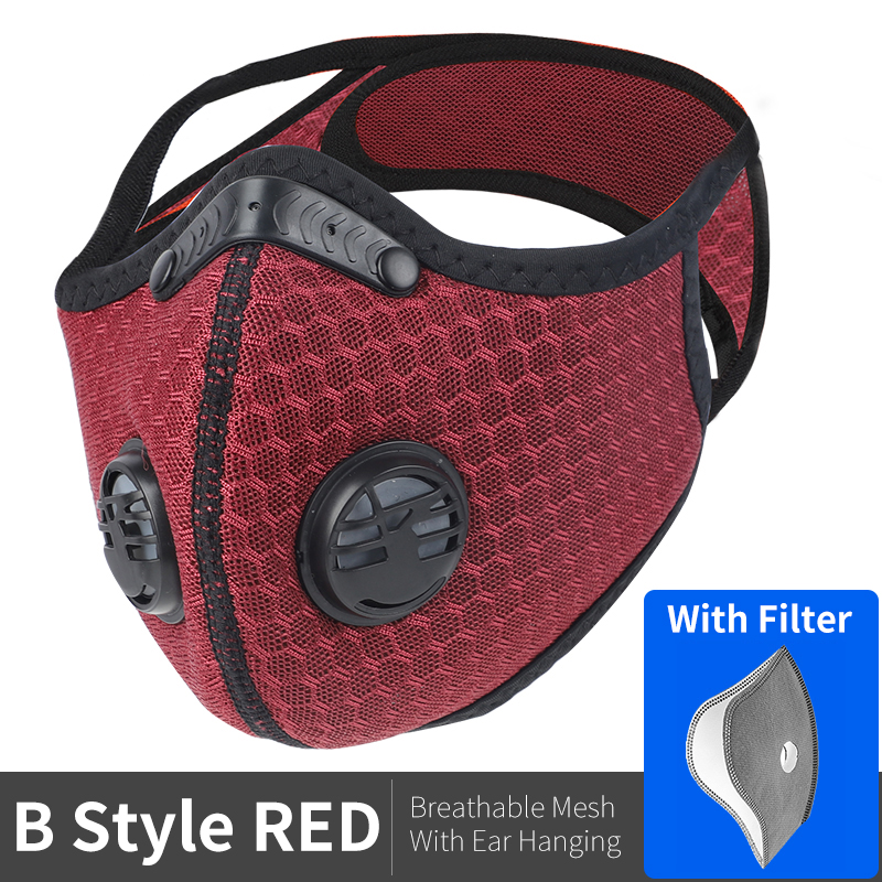 B Style Mesh Red