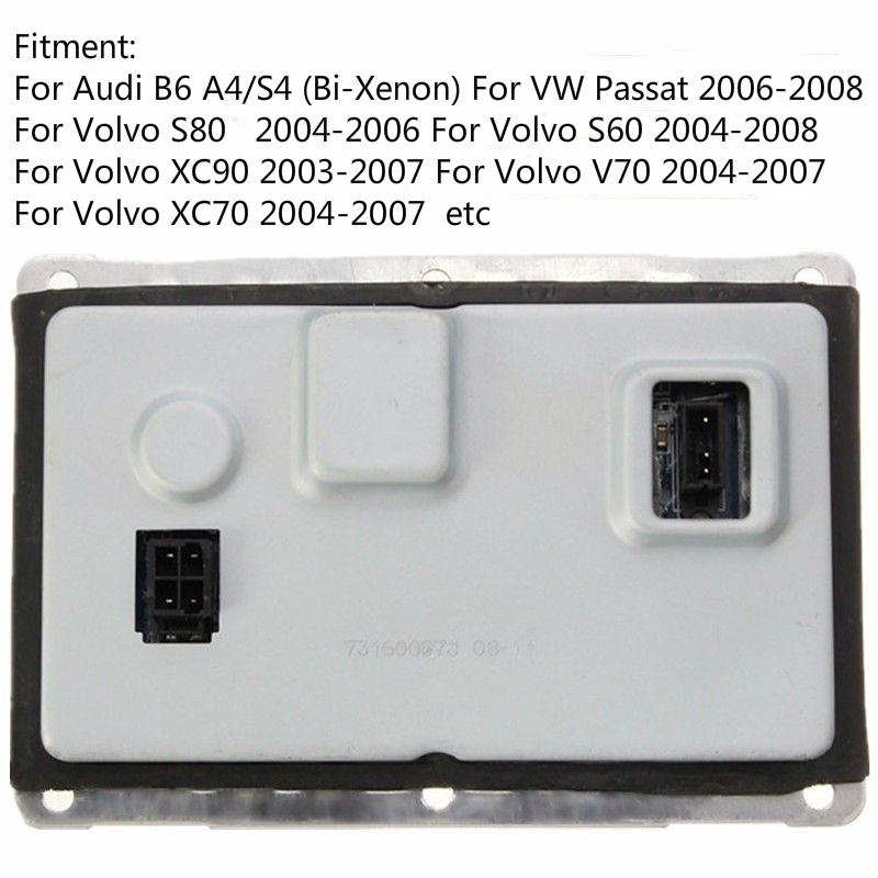 Xenon Headlight HID Ballast Module 4PIN for Audi VW Volvo Cadillac 3D0907391B