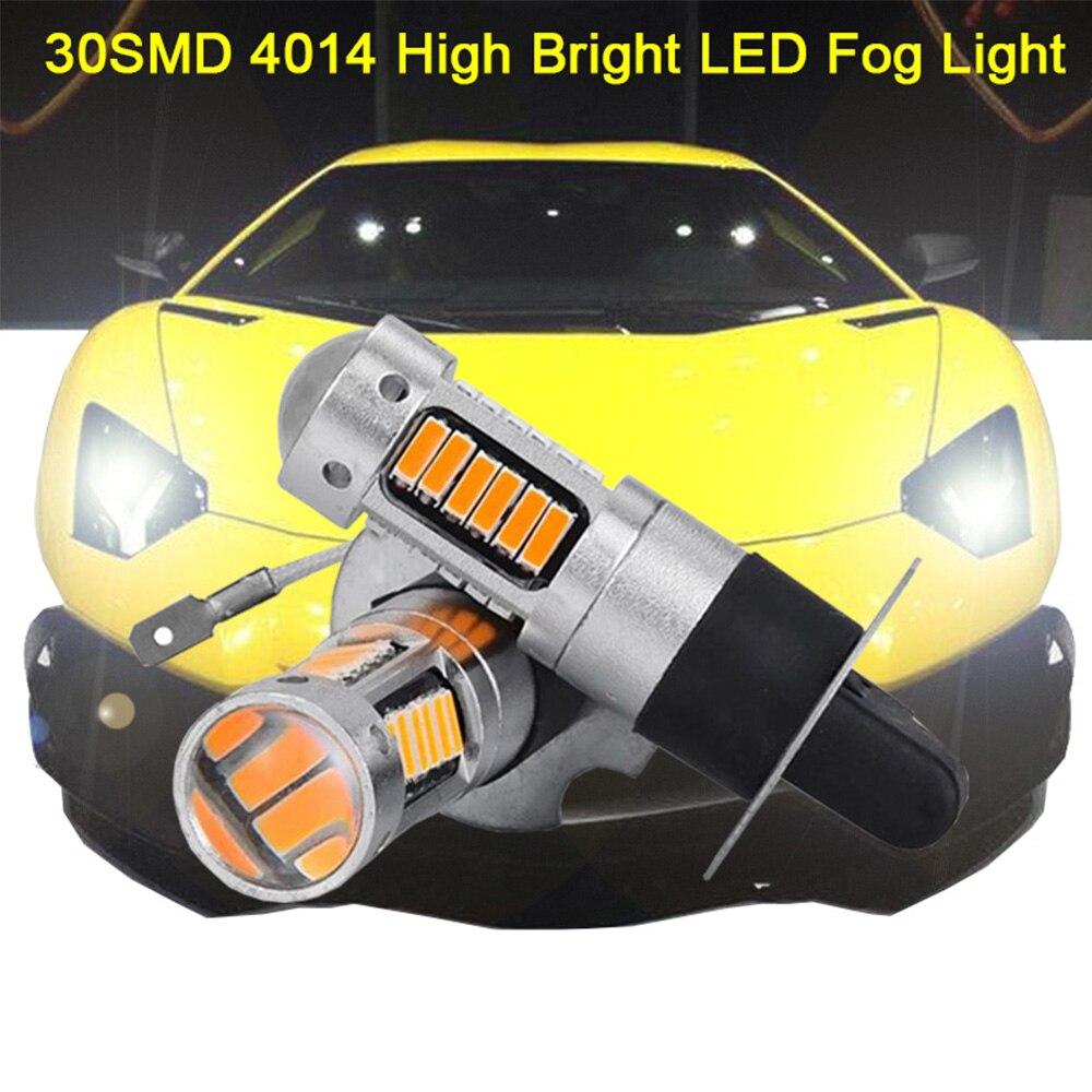 2019 2PCS h27 led 880 881 Autos Auto Lichter birne Auto Nebel lampe 30 SMD 4014 Weiß, gelb, Rot, Blau, Eis-Blau, Rosa-Lila